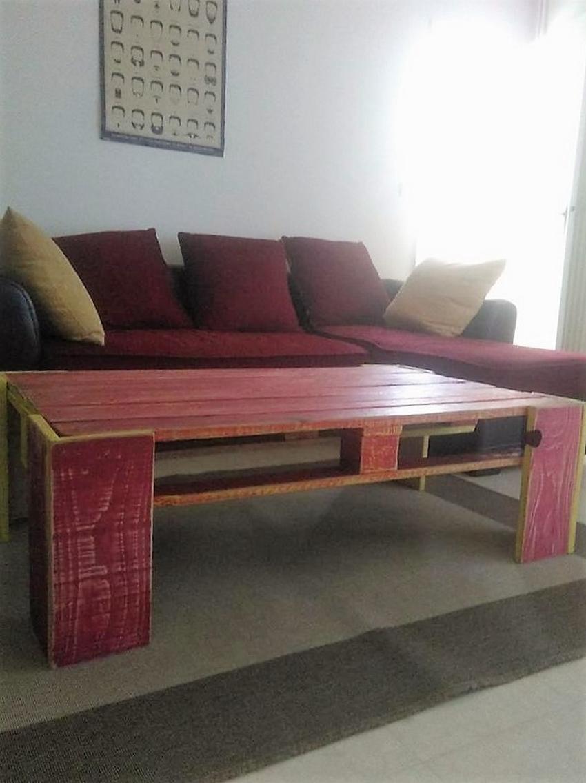Adorable Recycled Pallet Inspirations Pallet Ideas # Muebles Con Paletas De Madera