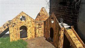 wooden-pallet-dog-house