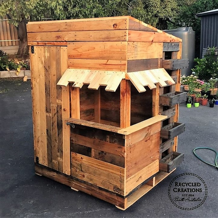 Recycling Ideas for Used Shipping Pallets