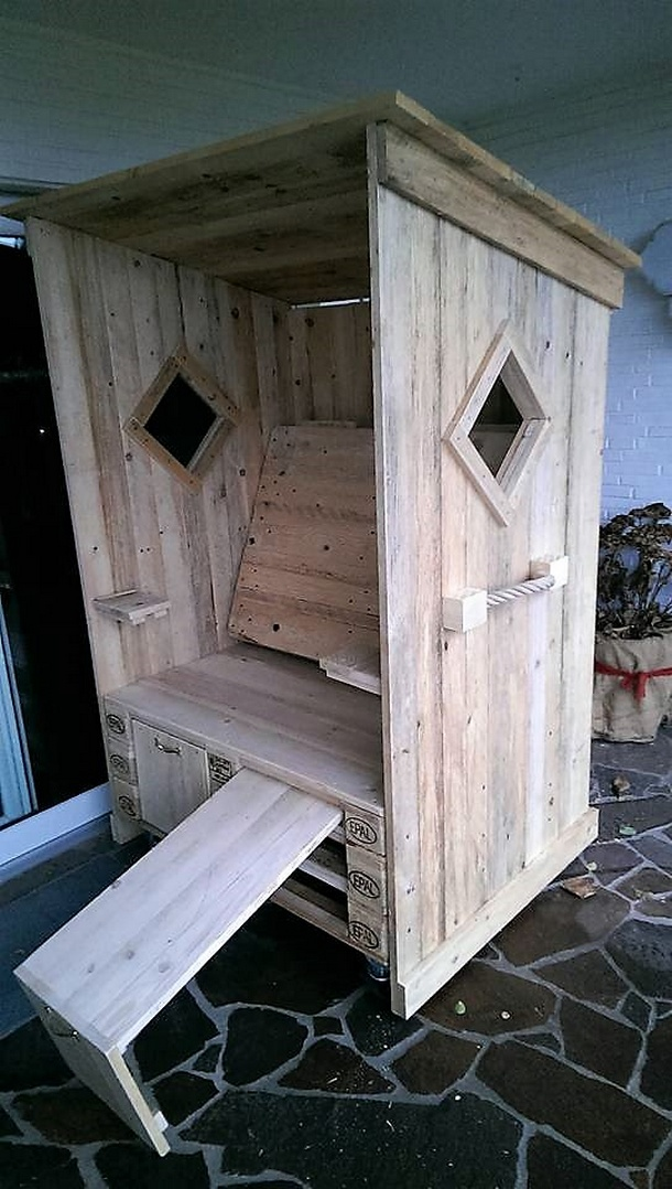 DIY Pallets Strandkorb Chair