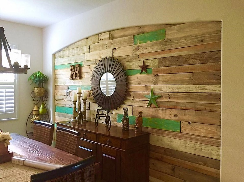 Creative Wood Pallet Recycling Ideas