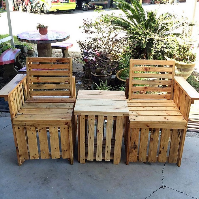 Some Pallet DIY Ideas for Winter Vacations
