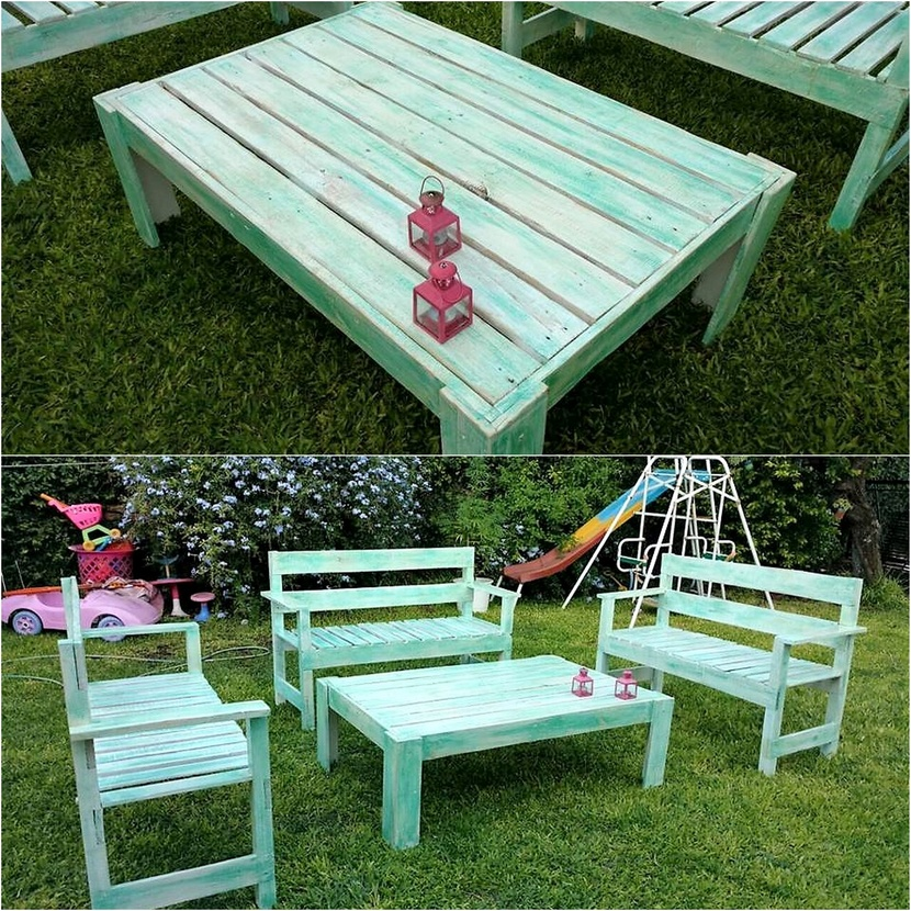 Charming Ideas for Wooden Pallet Creations