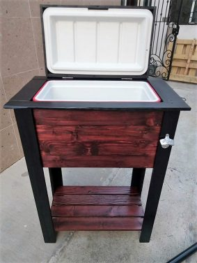 repurposed pallet cooler