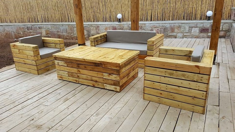 Sensational Ideas for Pallet Wood Recycling
