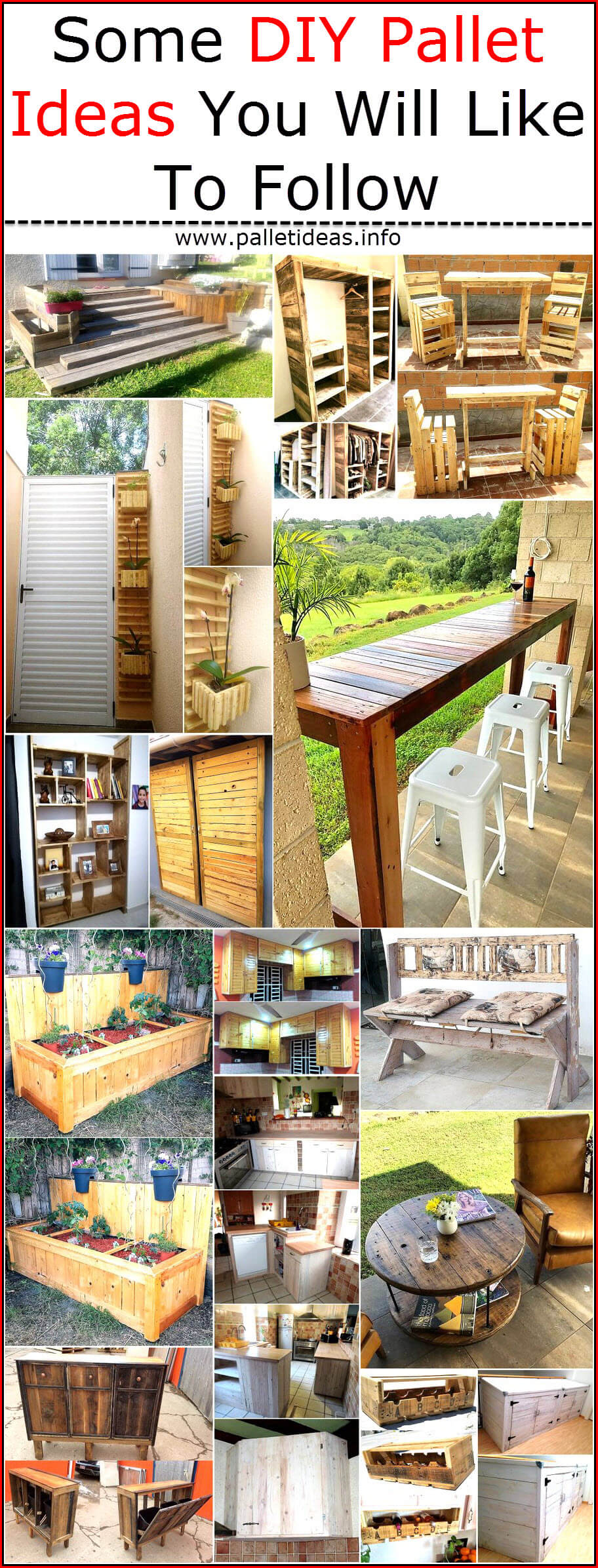Some Diy Pallet Ideas You Will Like To Follow Pallet Ideas