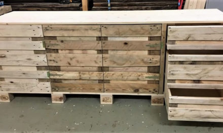 Repurposed Wood Pallets Kitchen Counter Table
