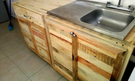 Pallet Wood Kitchen Cabinets Www Picturesso Com