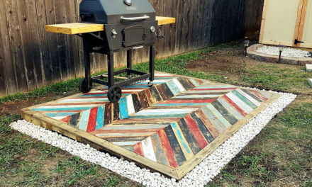 Recycled Pallets Wooden Garden Deck
