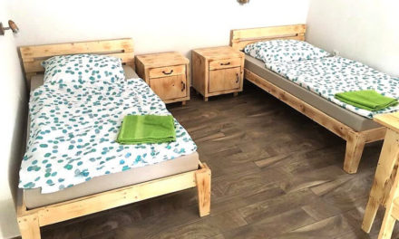 Boarding House Furniture Made with Recycled Pallets