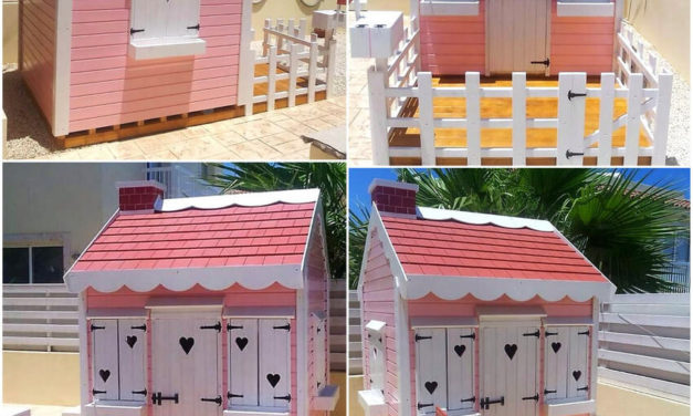Kids Fun And Play Ideas with Recycled Pallets