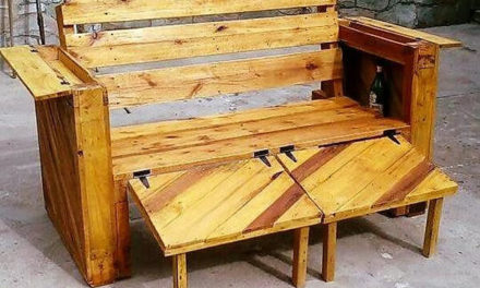 Creative Pallet Couch with Different Options