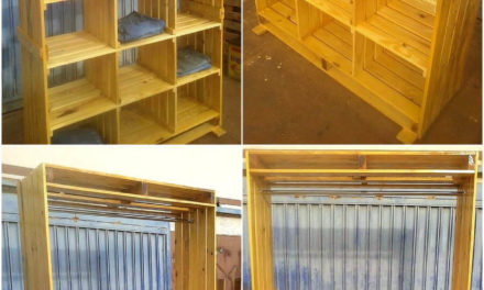 Cheap Household Storage Creations with Wooden Pallets