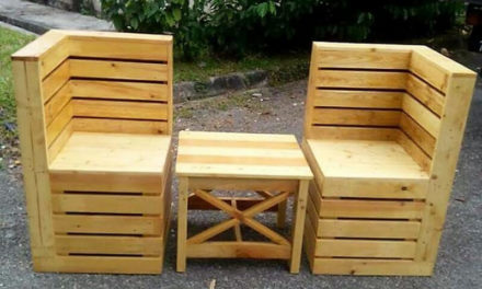 DIY Motive Ideas for Wood Pallets Repurposing