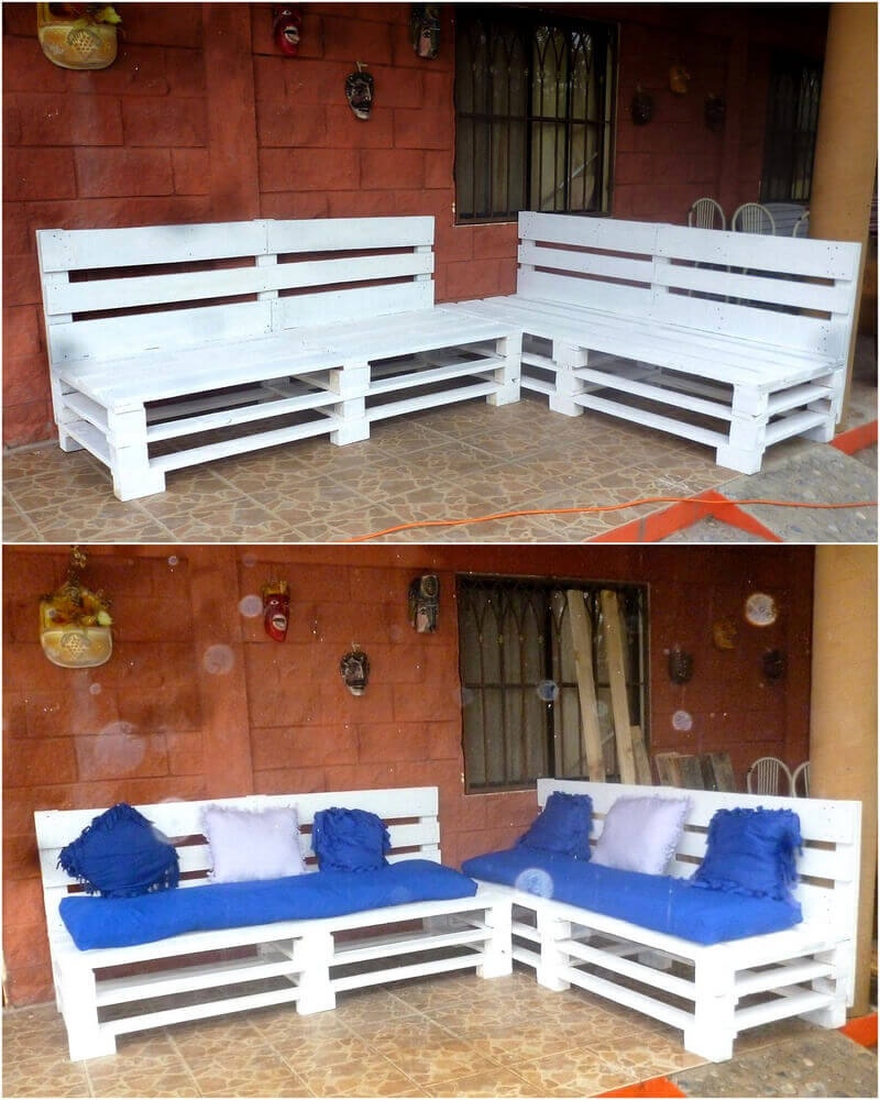 Some fresh ideas with repurposed wood pallets pallet ideas for Pallet idee