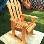 DIY Wood Pallets Rocking Chair Plan
