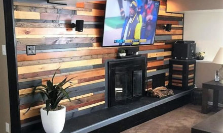 DIY Wooden Pallets Wall Cladding Plan
