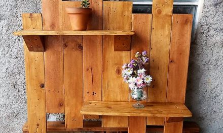 Creative & Fresh Wooden Pallet Ideas