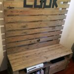 Recycled Pallets Wooden TV Stand Plan