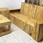Recycled Wood Pallet Living Room Furniture