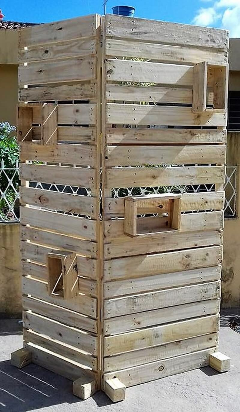 pallet space divider project