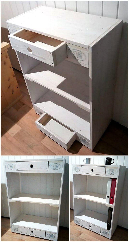wood pallet sideboard idea