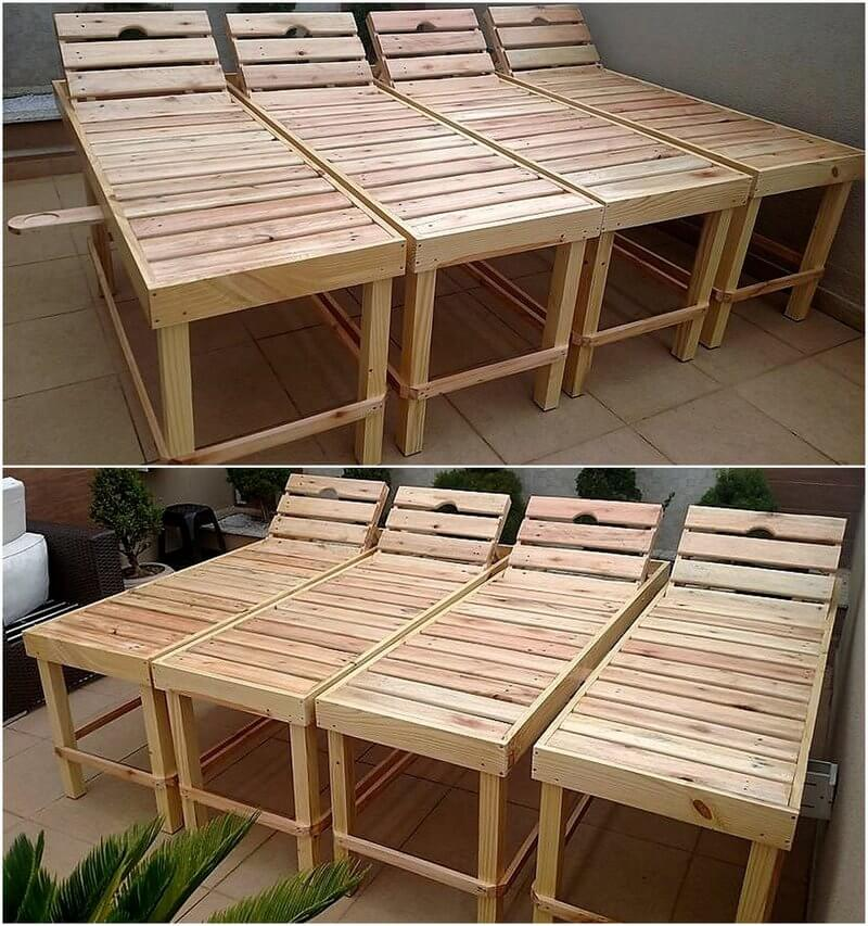 wooden pallets made stretchers