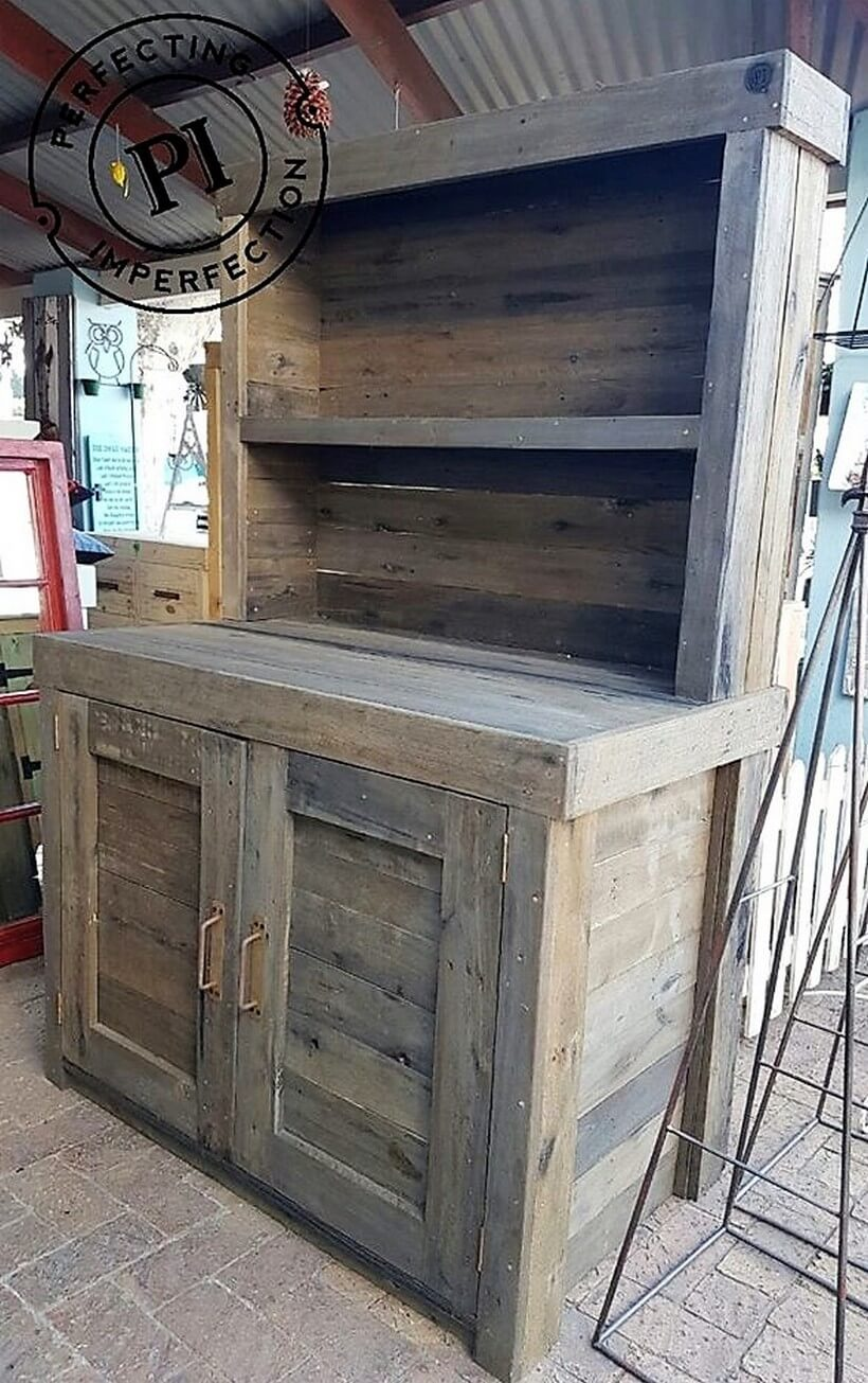 Diy Ideas For Reclaimed Wood Pallet Projects Pallet Ideas # Palette Meuble Tv