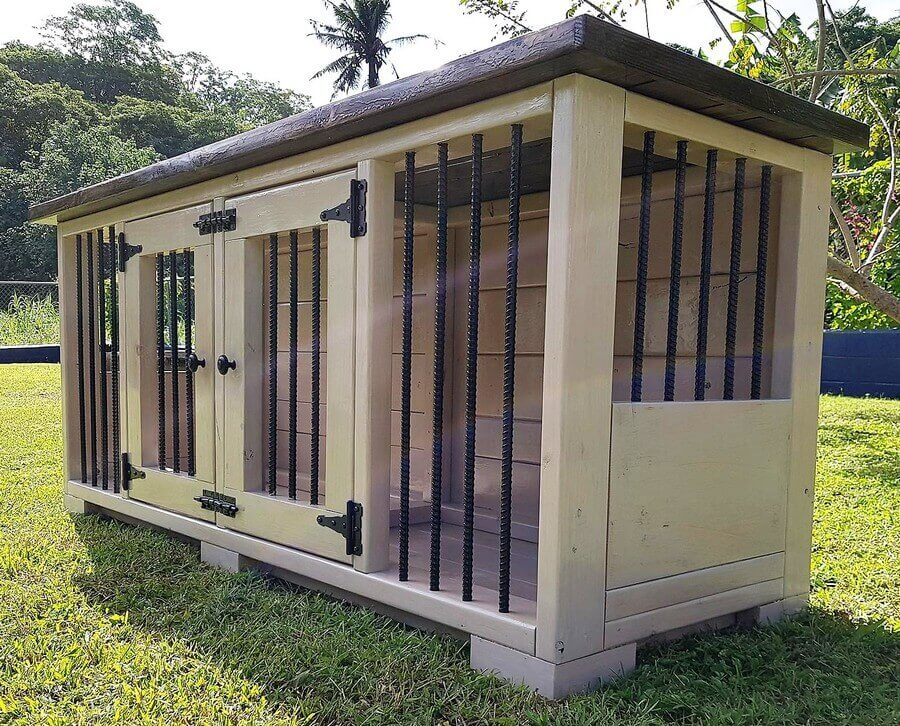 Reclaimed Wood Pallets Made Dog Kennel Pallet Ideas