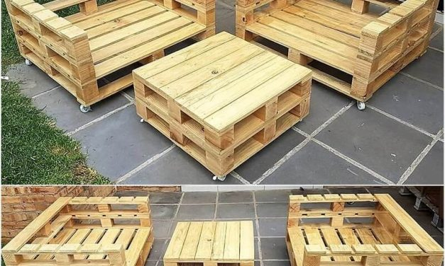Useful Ways To Reuse Old Used Pallets Wood