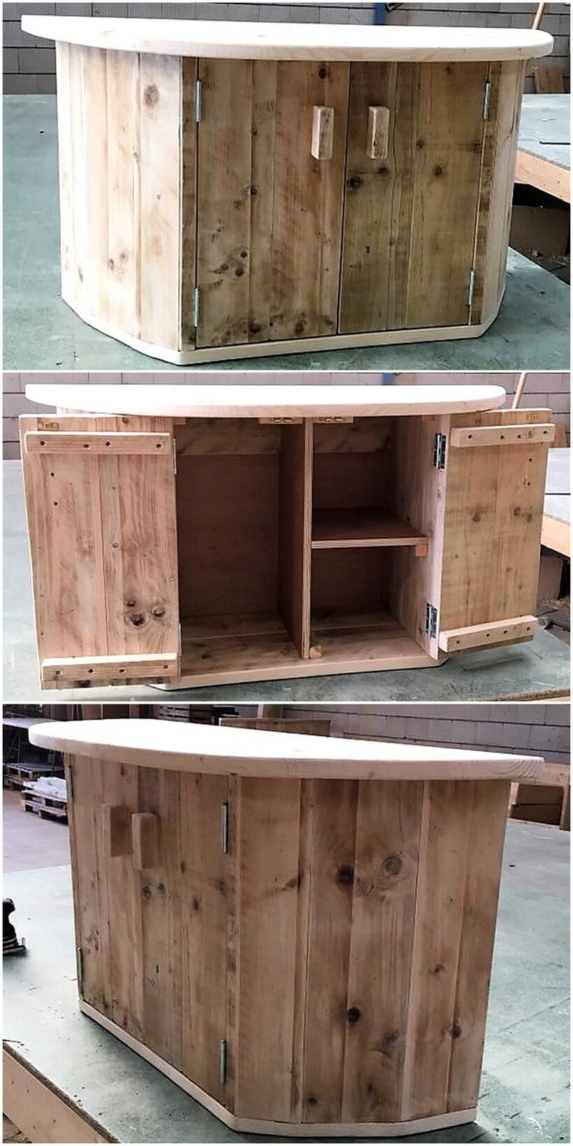 Pallet Tailor Table