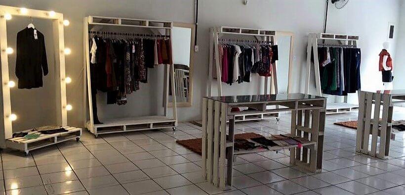 pallet dressing shop racking