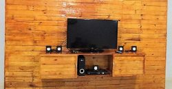 pallet wall works for lcd