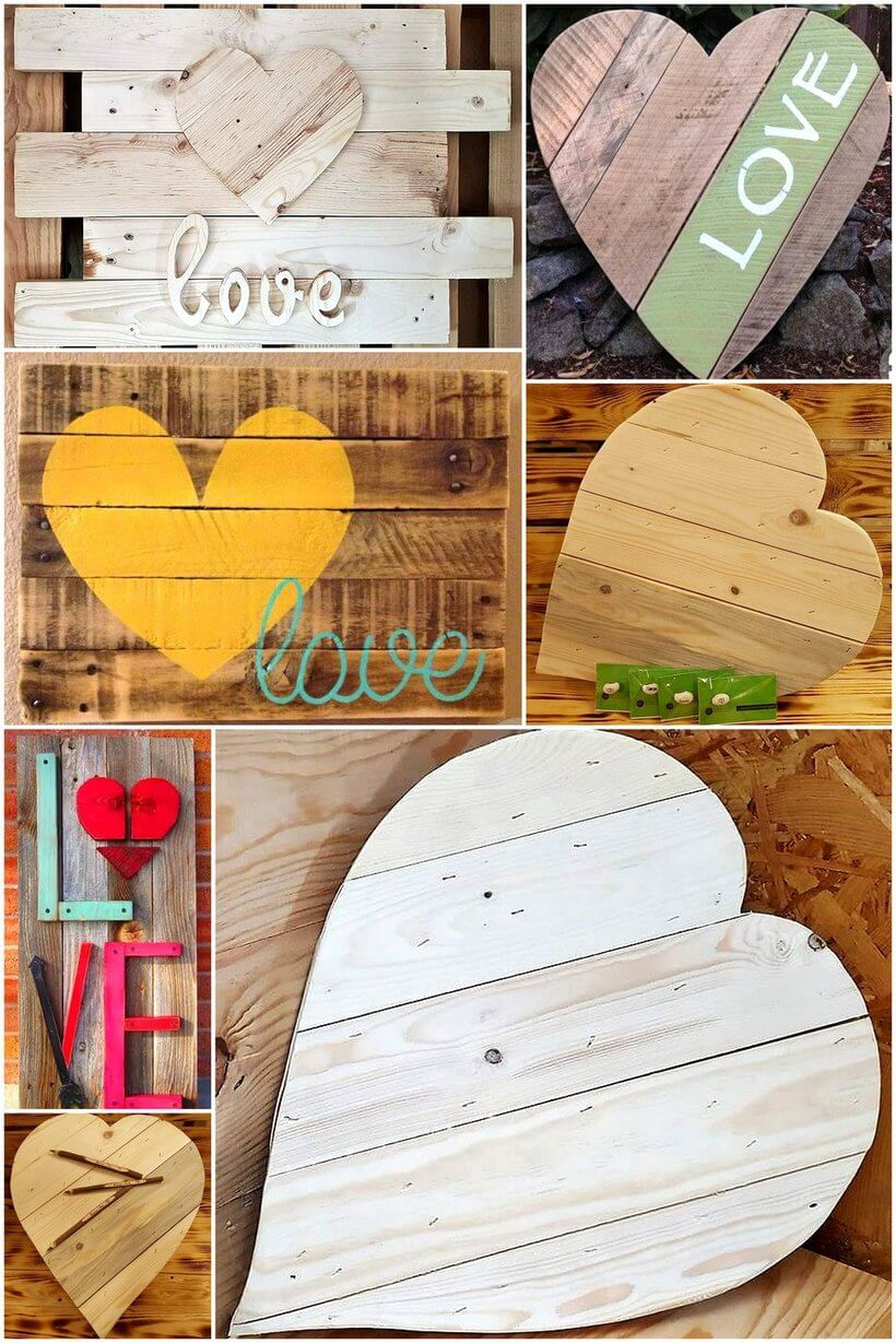 wood pallet art crafts