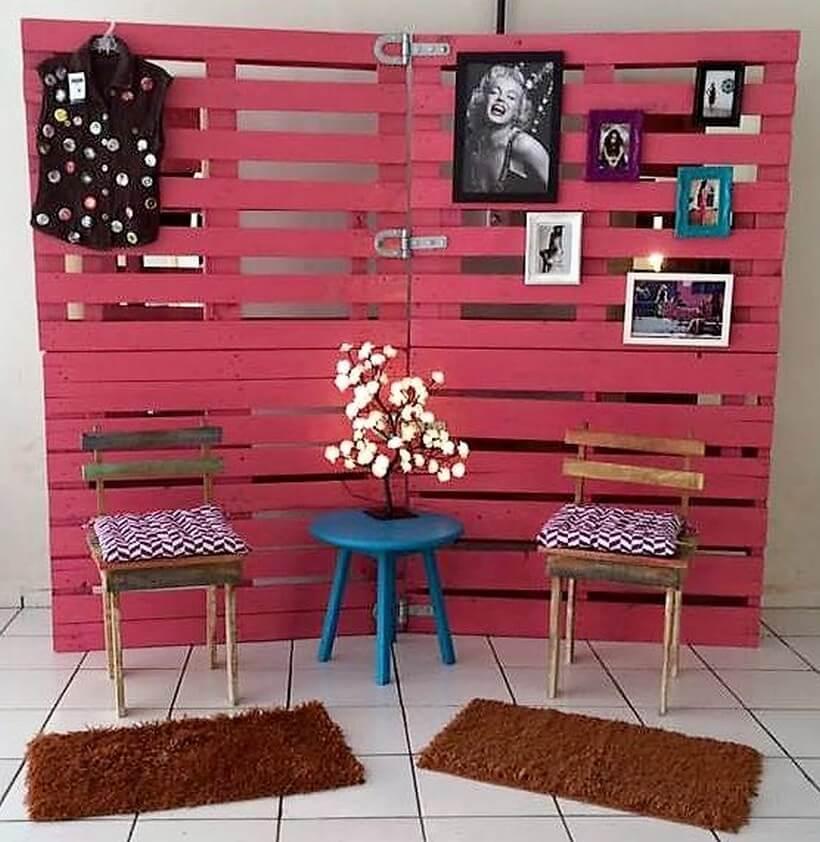 wood pallet decor art