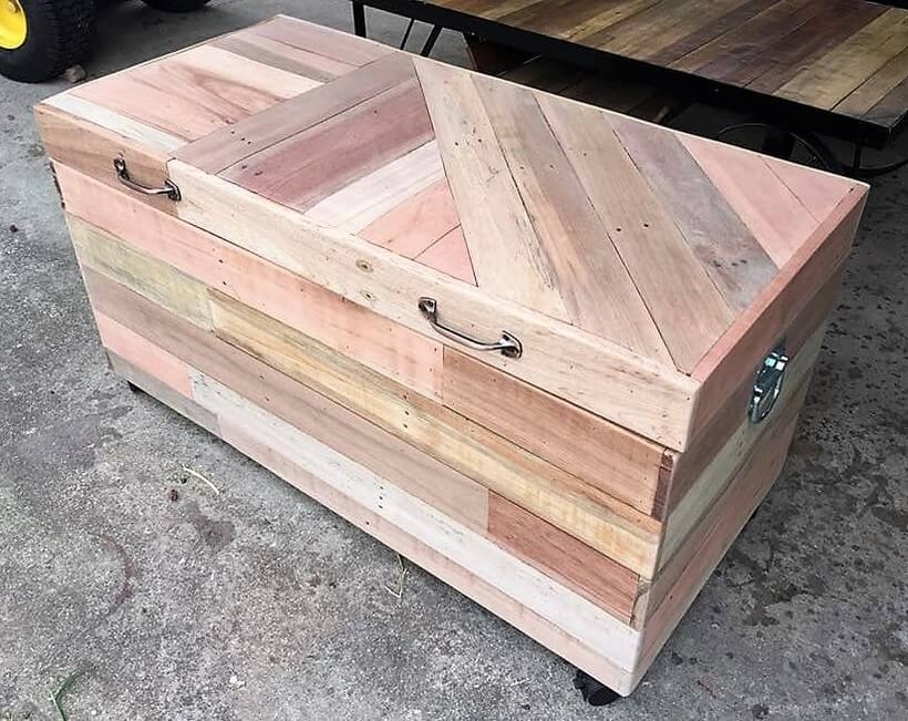 wooden pallets toy box
