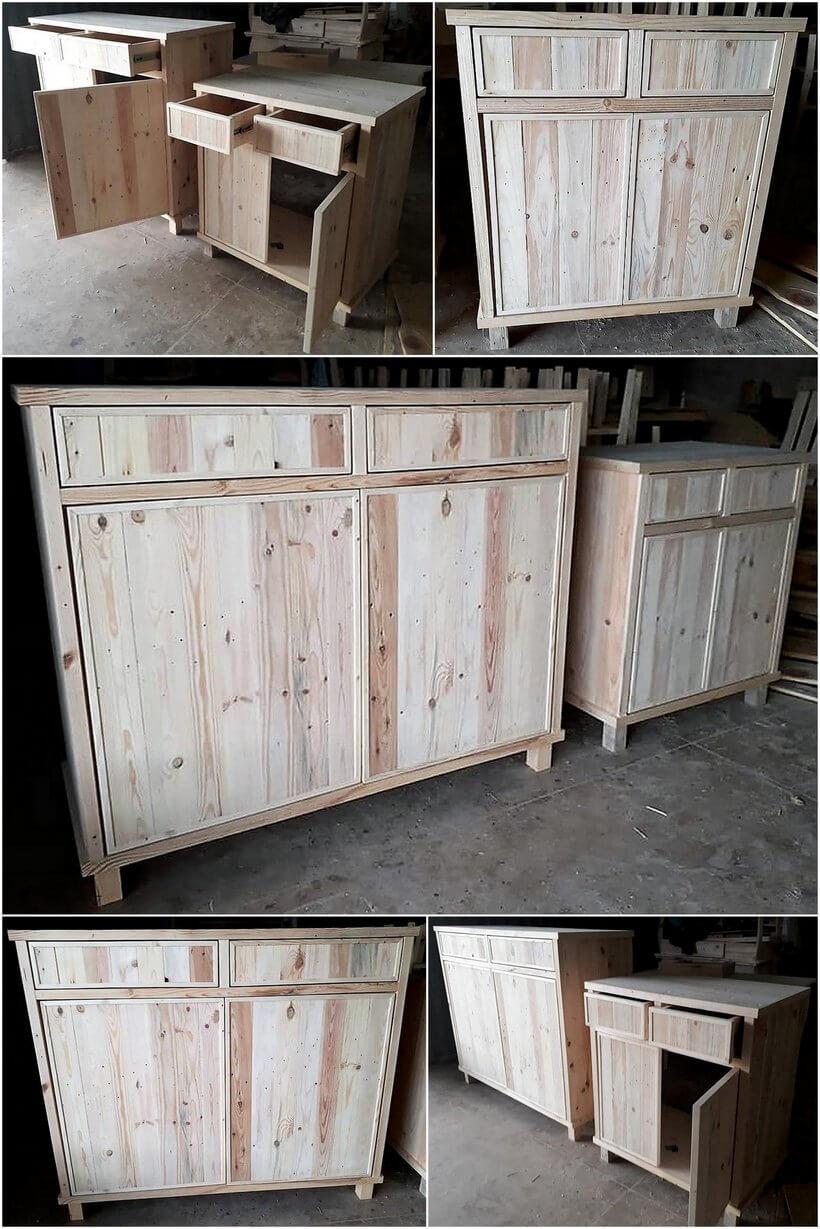pallet kitchen storage cabinets
