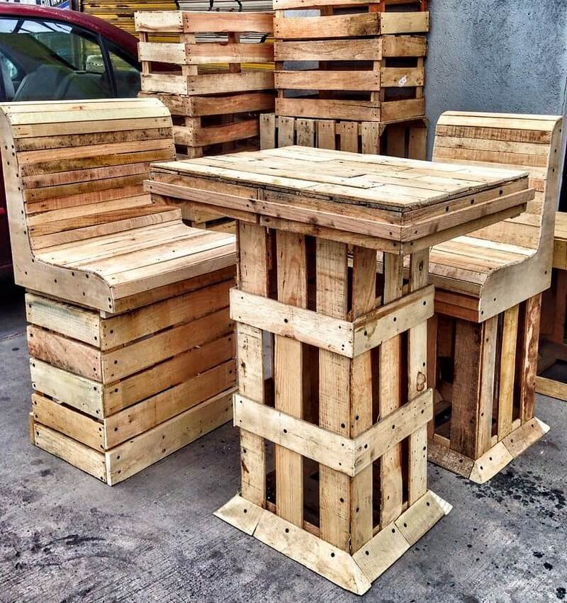 pallet recycled furniture 2