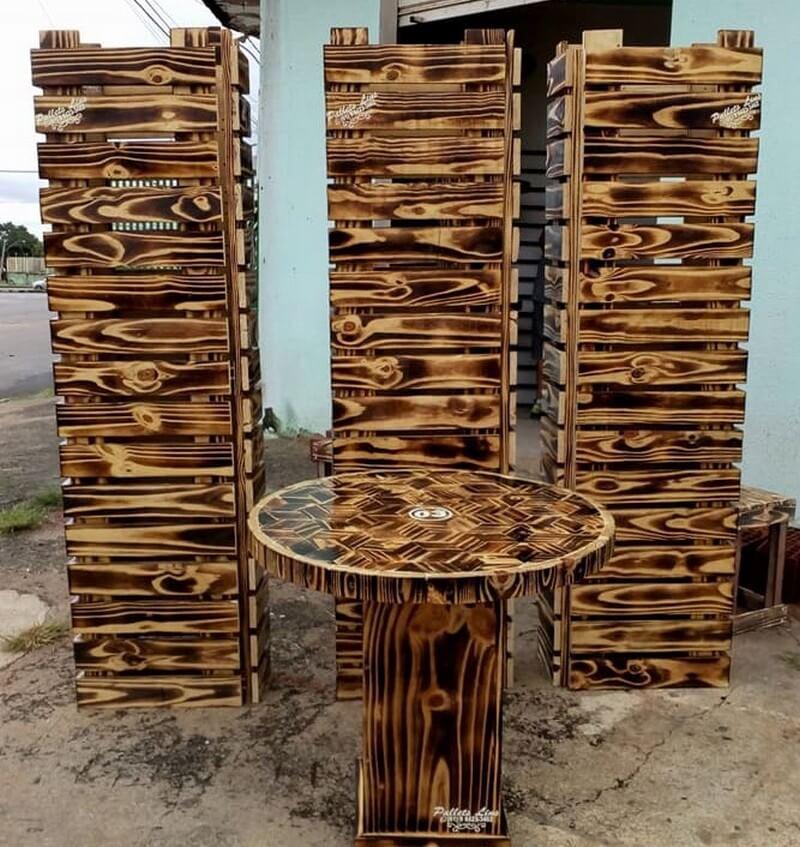 wood pallet art work